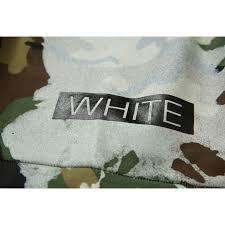 Off White Paint White Paint Splash T Shirt Black Camou
