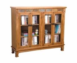 Vintage Bookcase With Glass Doors Oak Bookcases With Glass Doors Foter