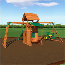 backyards cozy backyard discovery playsets saratoga wooden swing