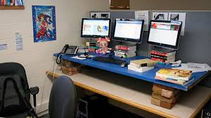 ikea stand up desk hack 10927