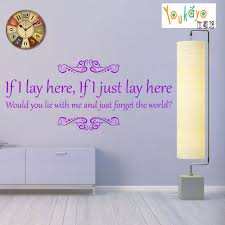aliexpress com buy snow patrol chasing cars if i lay here song aliexpress com buy snow patrol chasing cars if i lay here song lyrics vinyl wall art sticker from reliable wall art stickers suppliers on addylong store