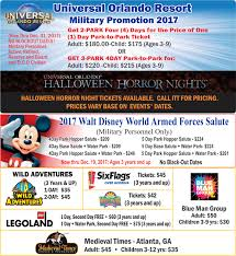 promo codes for halloween horror nights information tickets and travel 78th force support squadron