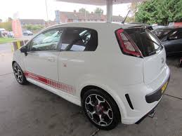 used white abarth punto evo for sale surrey
