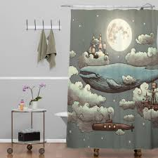 Coastal Shower Curtain by Amazing Coastal Themed Shower Curtains For Ocean Themed Shower