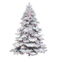flocked christmas tree flocked christmas trees target