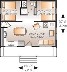 small vacation cabin plans 28 best adu images on small houses home plans and