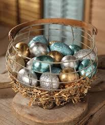 glitter easter egg ornaments 17 glam easter egg décor ideas shelterness