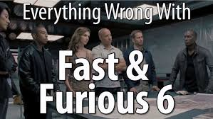 Fast And Furious 6 Meme - everything wrong with fast furious 6 youtube
