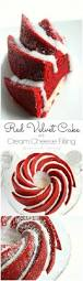 red velvet bundt cake with cream cheese filling home made