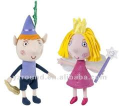 talking ben holly plush cute toys doll prince princess buy