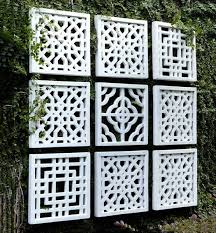 innovative ideas outdoor wall decorations awesome idea 25 best