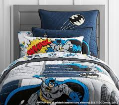 Batman Double Duvet Cover Batman Cityscape Quilt Pottery Barn Kids