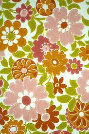 Wallpapers For Children Vintage Retro Pink Floral Wallpaper For Children
