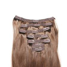 clip on extensions 16 clip in extensions color chestnut brown no 6