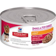 science diet light dog food hill s science diet small breed light canned dog food