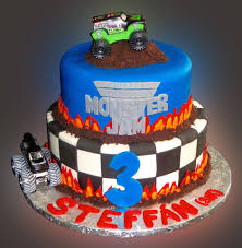 monster truck jams monster jam cake sweet somethings desserts