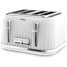 amazon black friday toasters breville vtt686 2 slice high gloss toaster white amazon co uk