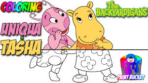 backyardigans coloring pages nickelodeon nick jr coloring