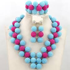 bracelet bead sets images African beads ball design jewellery sets prestigeapplause jewels jpg