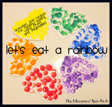 little hands that cook with books let u0027s eat a rainbow the