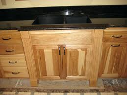 how to finish the top of kitchen cabinets clear coat for cabinets hickory kitchen cabinets with a clear finish
