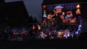 christmas lights cold play christmas mad couple cover their entire home in fairy lights in