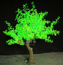 2018 simulation decorative outdoor lighting trees led