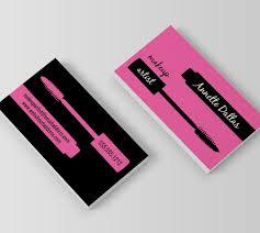 makeup fashion business card design printing