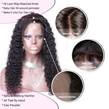 how to make baby hair 4 4 silk top lace human hair wigs glueless malaysian