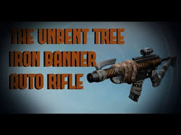 destiny roi the unbent tree iron auto rifle beastly