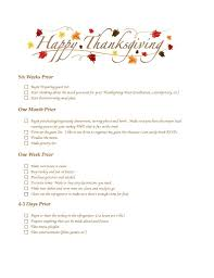 planning a thanksgiving feast free checklist of the city