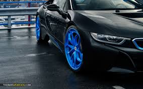 Bmw I8 With Rims - shooting a bmw i8 in typical dutch weather for hre wheels thomas