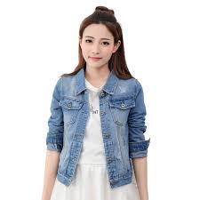 light wash denim jacket womens 10 color denim jacket women 2017 autumn casual slim cotton light