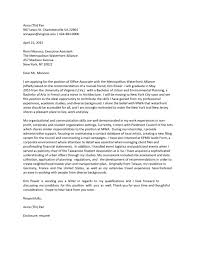 awesome collection of executive associate cover letter in