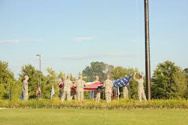 American Flag At Night Rules Retreat And Reveille Pay Your Respects To The Flag Article