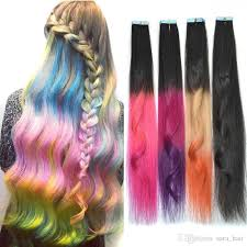 real hair extensions clip in glue ombre 100 real human hair extension clip in