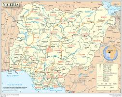 Map Of Nigerian States by Country Profile Of Nigeria Acaps
