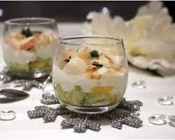 cuisine verrine recette verrines de homard avocat et mangue