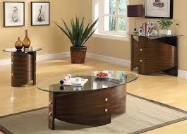 Glass Coffee Table Set Best 25 Oval Glass Coffee Table Ideas On Pinterest Natural Wood