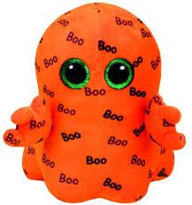 beanie boo ghoulie orange ghost medium usa brand ty walmart