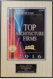 Top Architecture Firms 2016 Design One Inc