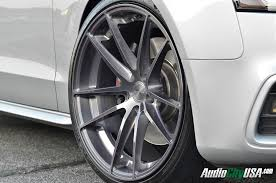 audi titanium wheels 2013 audi s5 20x10 5 stance sc 1 titanium brush wheels hankook