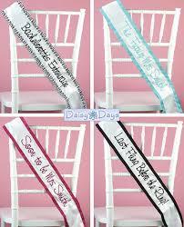 personalized sashes wednesday wedding accessory custom personalized sashes