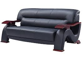 mattress master black bonded leather sofa