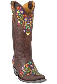 gringo womens boots size 11 gringo s brass sora boots pinto ranch