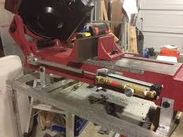 harbor freight welding table 4x6 bandsaw stand and down feed machine shop etc pinterest