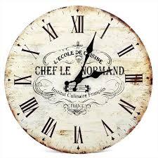 Grande Horloge Murale Carrée En Bois Vintage Achat Grand Style Vintage En Bois Horloge Murale Distressed Romantique