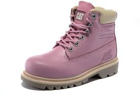 womens pink boots sale cheap cat work boots pink sale