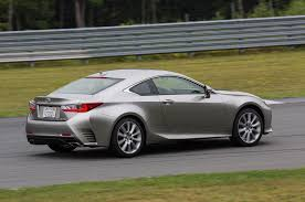 lexus coupe 2015 2016 lexus rc 350 f sport one week review automobile magazine