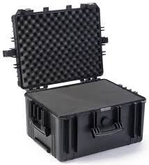 trade show cases with hard shell containers for exhibit booth
